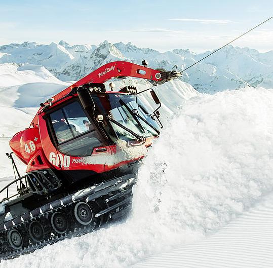 Въжета за лебедки на снегоутъпкващи машини